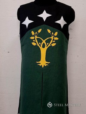 TABARD WITH STARS AND TREE