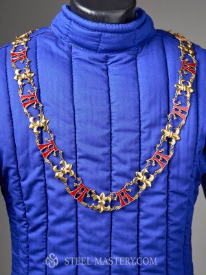 """KNIGHT'S COLLAR WITH THE LETTER """"A"""" Accessories"""