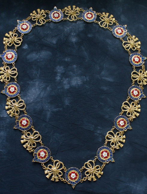 Order of the Garter collar without pendant (England, 14th century)