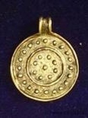Solar pendant with the symbol of Water Accessories