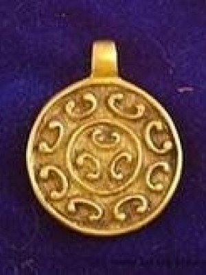 Solar pendant from the Vyatichi tribe Accessories