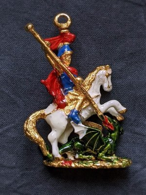 George pendant from Order of the Garter