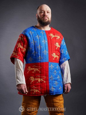 Gambeson of Edward of Woodstock (the Black Prince), XIV century