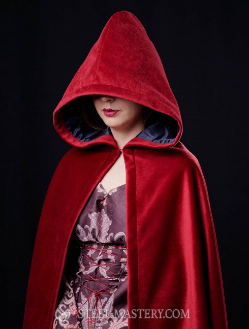 Medieval cape with hood  Cloaks and capes