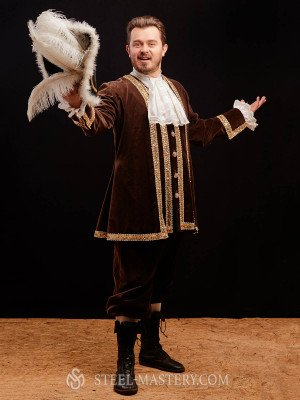 Renaissance clothing men, Dr. Livesey style