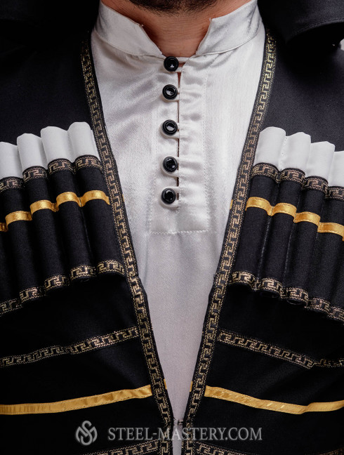 Caucasian traditional costume Cosplay and LARP costumes