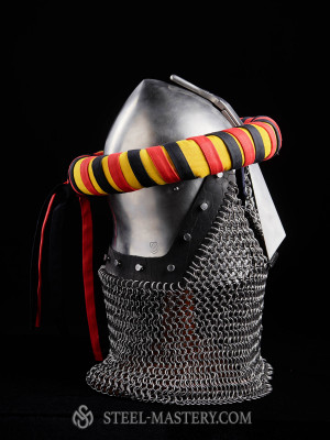 The torse, yellow - red - black Ready to ship