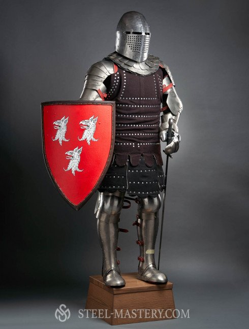 Medieval armor stationary display mannequin Full armour