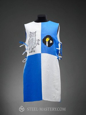 Knight tabard with owl and a skull  Old categories