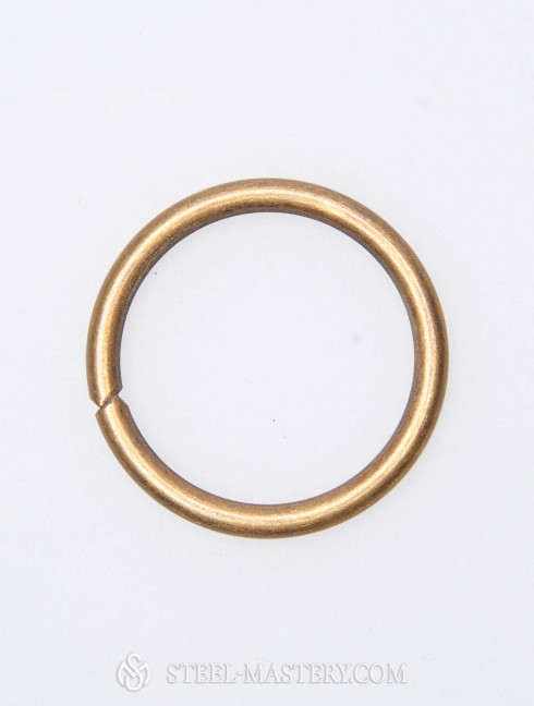 50 steelrings, diameter 3.5 cm (1.38 inches)  Plate armor