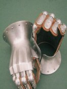 Plate knight gloves of XIV-XV century. How do we make them!