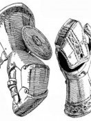Evolution of knights' hand protection