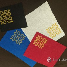 Medieval fabric printing or when you need chic and color
