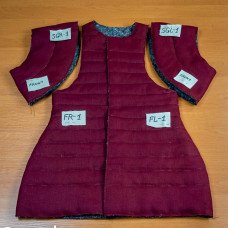 How to sew gambeson - pourpoint of Charles de Blois