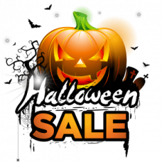 Great Halloween Sale - 18% discount!