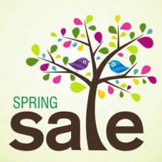 Spring Sale - discount 8% for 8 days!