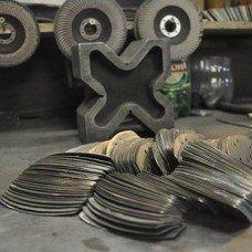 Crafting process. Lamellar plates.