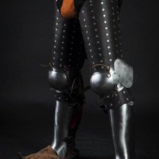 Medieval brigand leg protection - new photos are here!