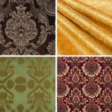 Decorative fabrics in Steel Mastery