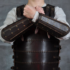 Leather bracers for fanstasy (and not only!) event