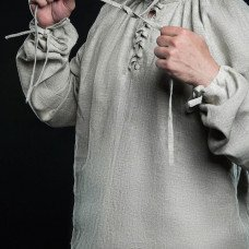 Medieval undershirt with lacing - new photos!