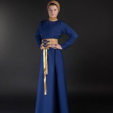 Medieval style dress with wide belt - new item!