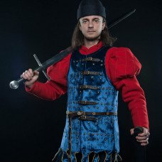 One-of-a-kind Middle Ages brigandine - new photos!