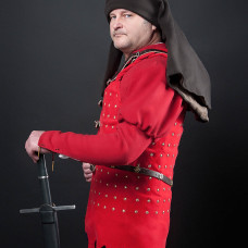 Lad In red - new photos of Chalkis brigandine!