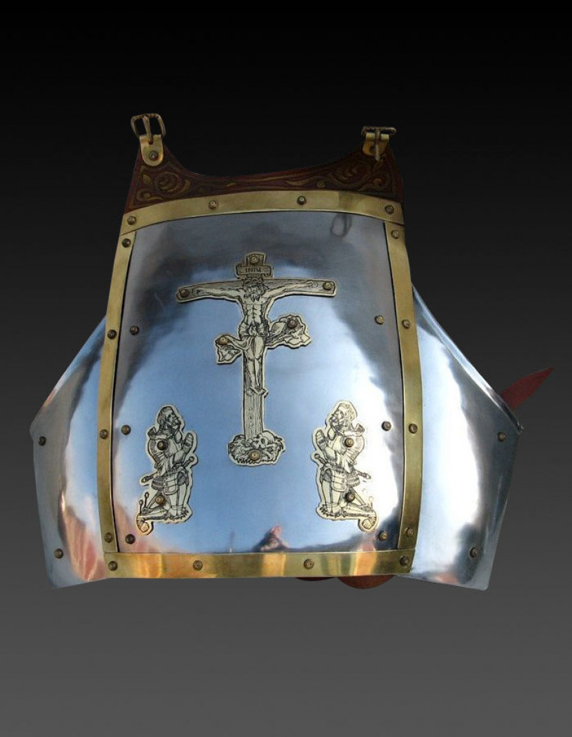 Breastplate 14th century photo made by Steel-mastery.com