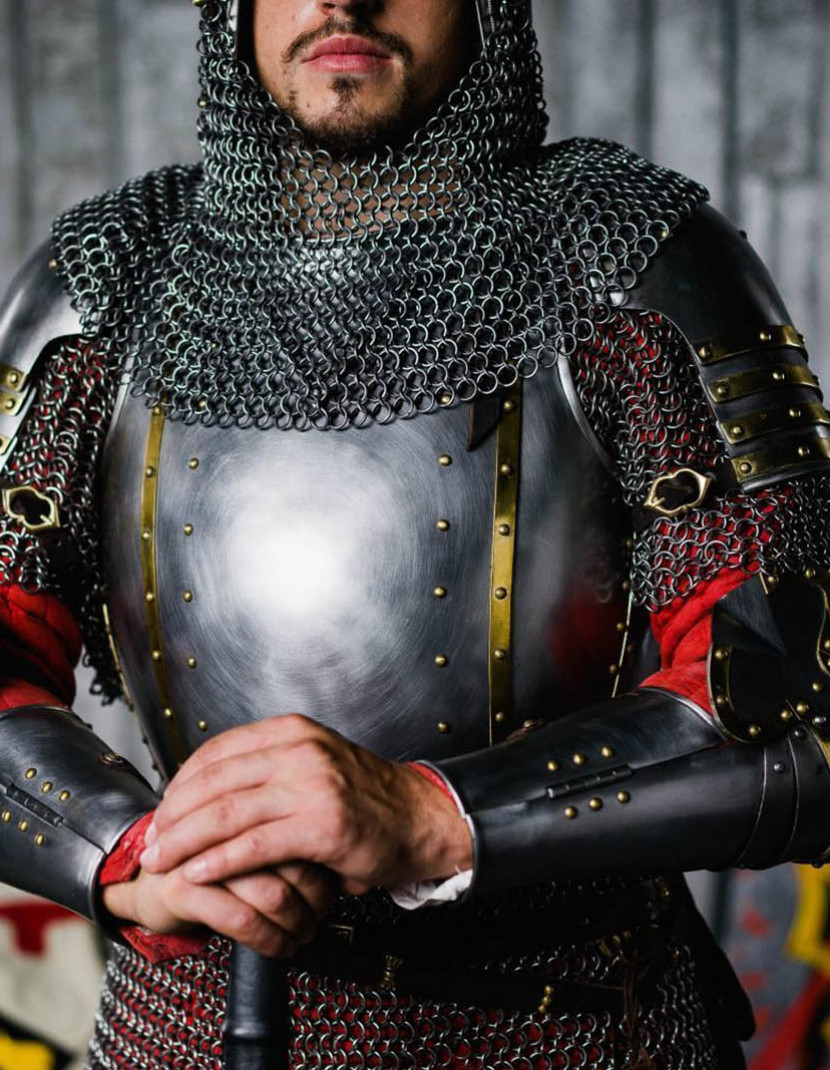 Churburg type Breastplate 14th century photo made by Steel-mastery.com