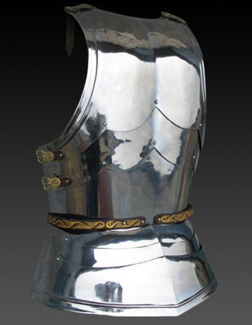 Cuirass with skirt, the mid 15th century photo made by Steel-mastery.com
