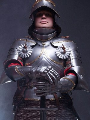 GERMAN GOTHIC CUIRASS, XV CENTURY Cuirasses, breastplates and gorgets