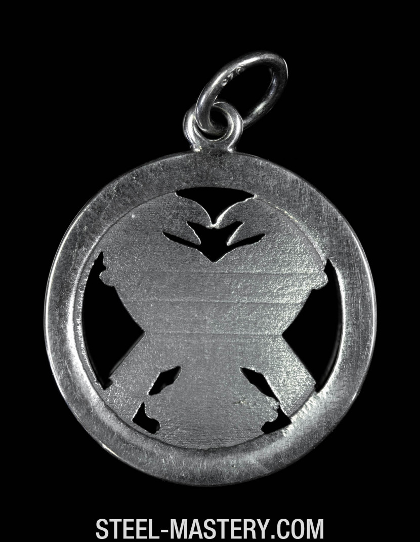 Odin necklace photo made by Steel-mastery.com