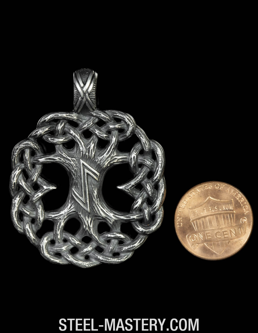 Viking Jewelry - Yggdrasil Pendant   photo made by Steel-mastery.com