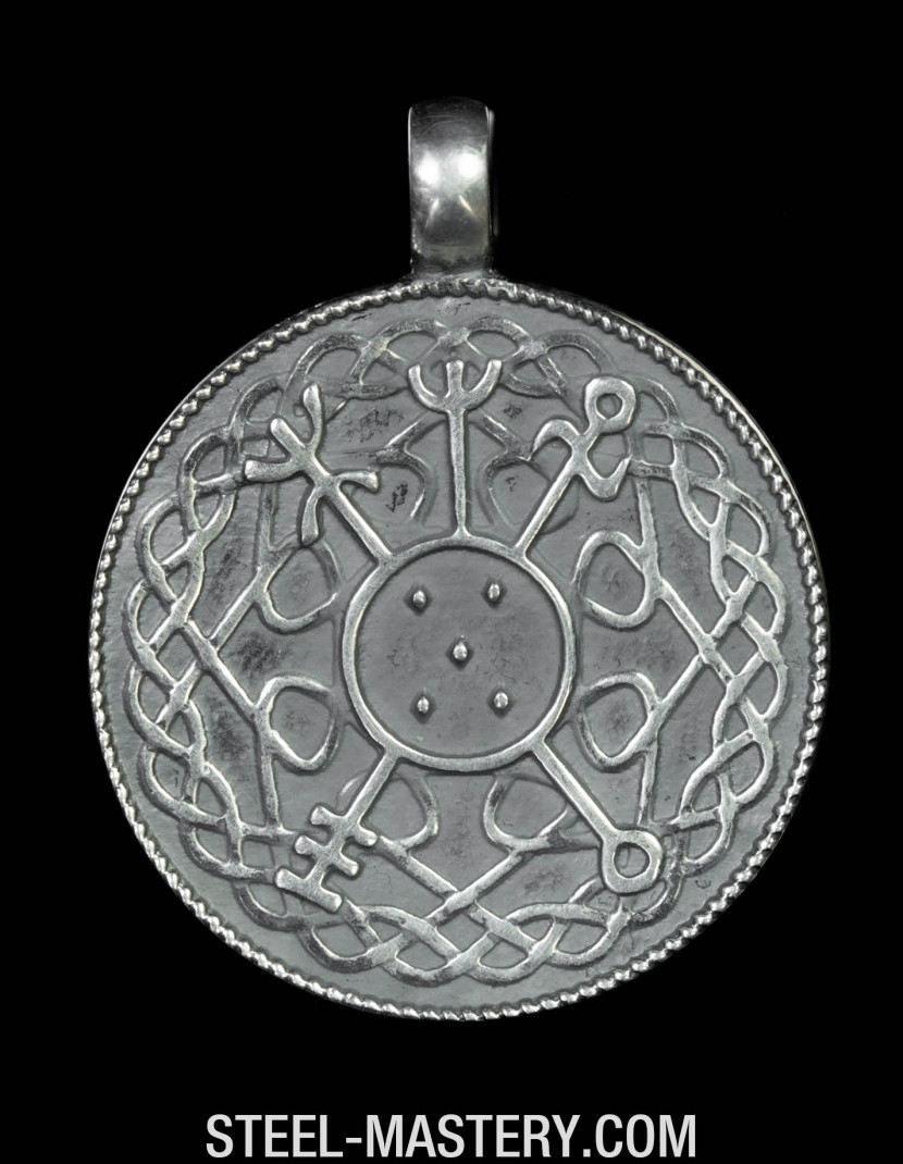 Scandinavian amulet of luck - Thor's Hammer photo made by Steel-mastery.com
