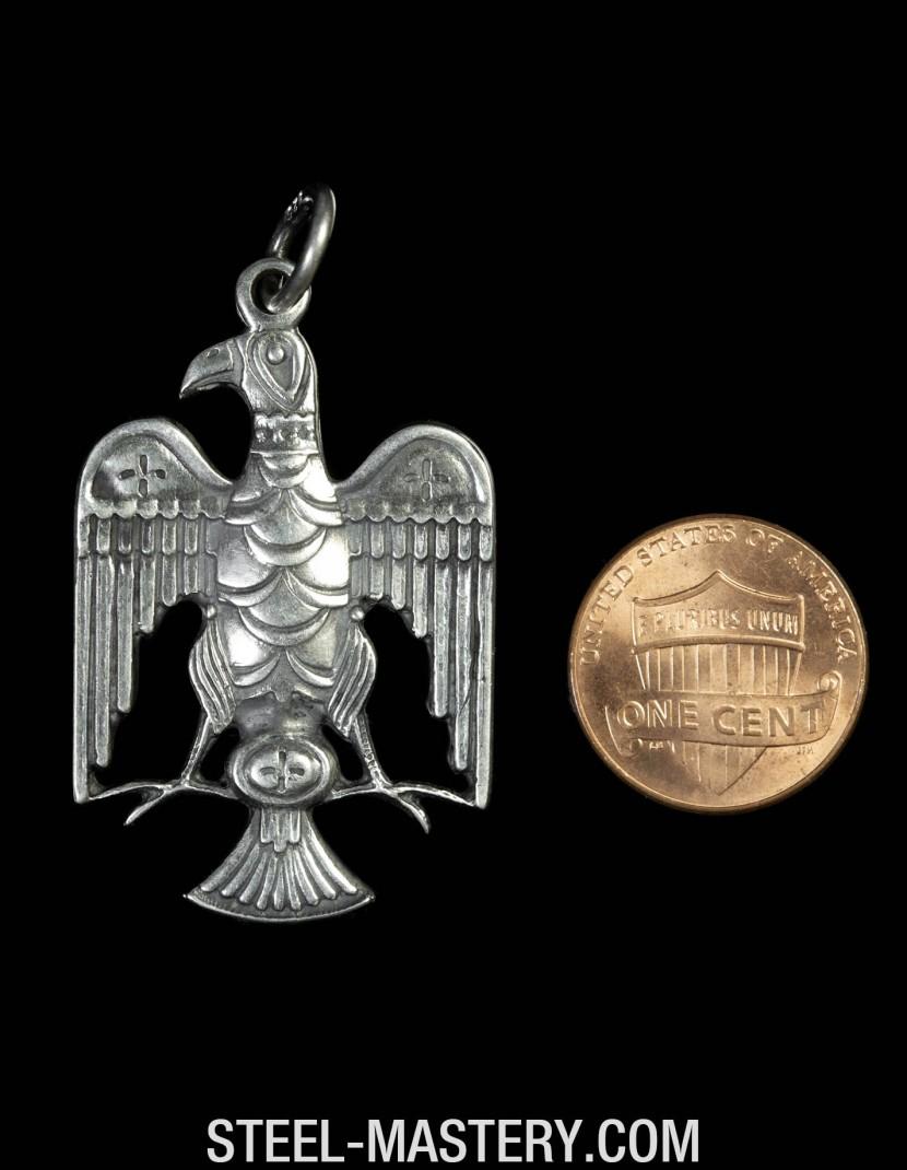 Roman eagle medallion  photo made by Steel-mastery.com