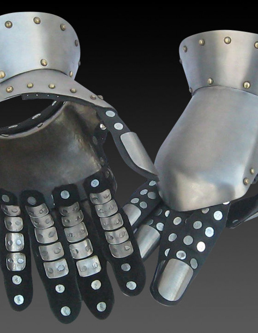 Milan Gloves 1370-1450 photo made by Steel-mastery.com