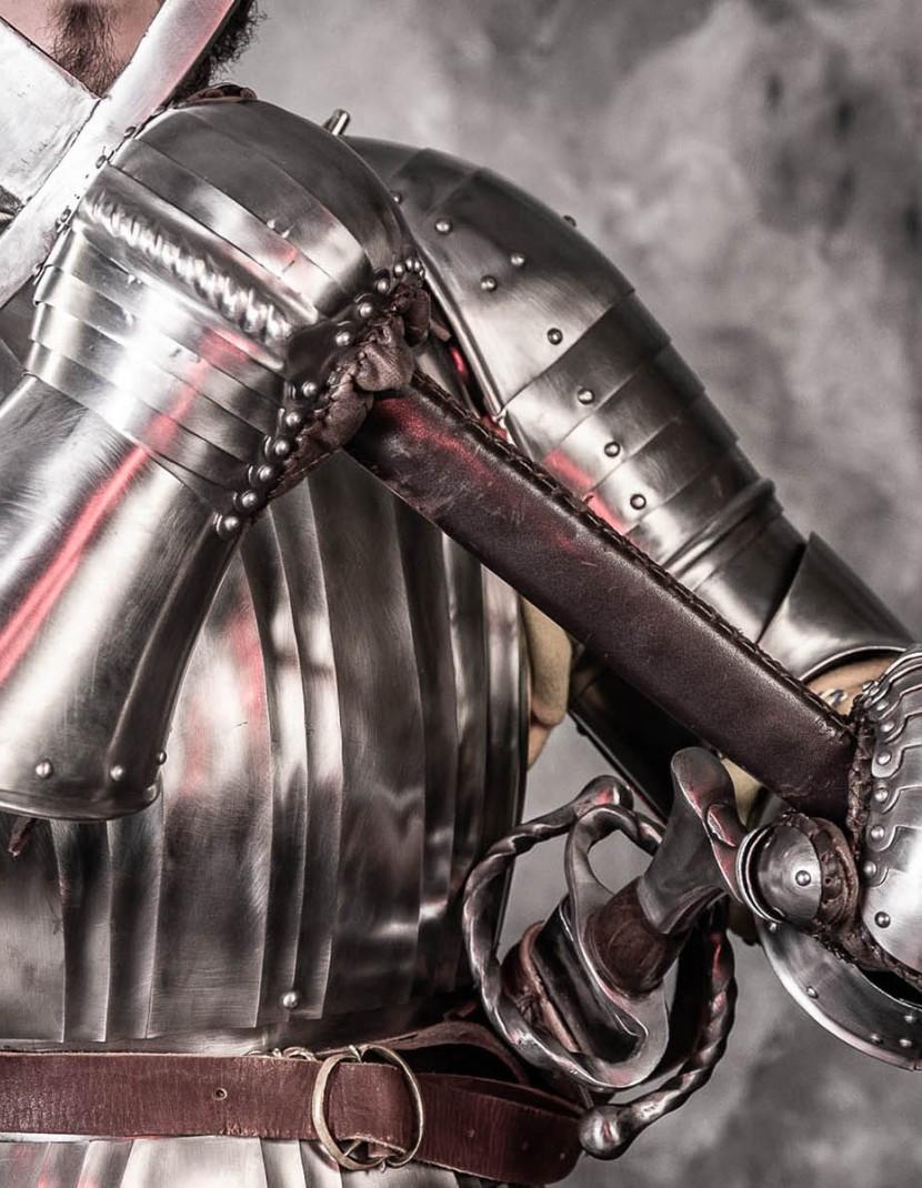 LANDSKNECHT PLATE GLOVES, XVI CENTURY photo made by Steel-mastery.com