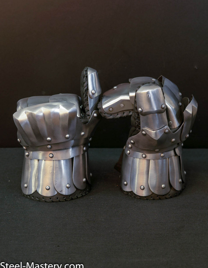 SCA STEEL GAUNTLETS photo made by Steel-mastery.com