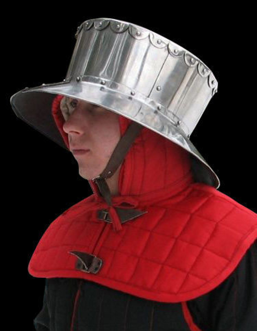 Kettle hat photo made by Steel-mastery.com