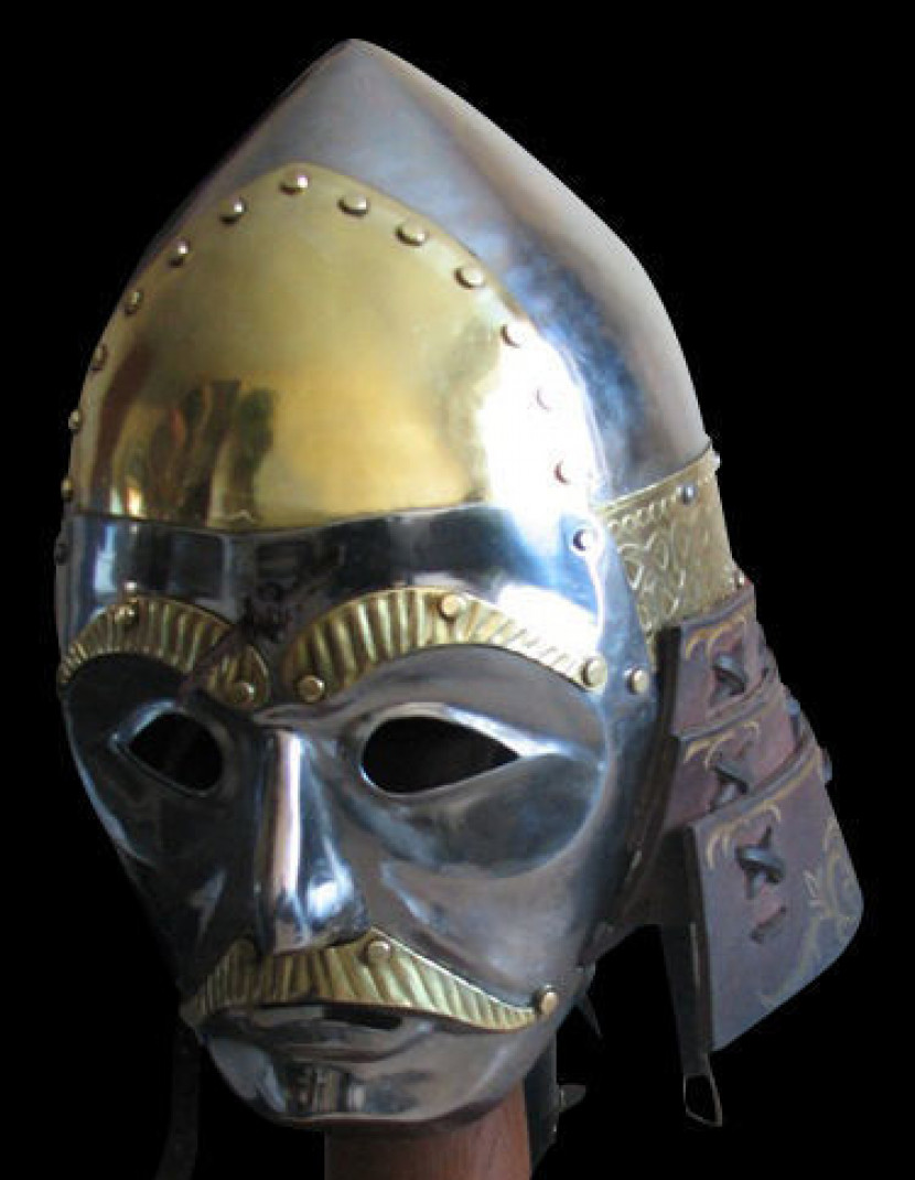 Tatar-Mongolian helmet 12 - 15 centuries photo made by Steel-mastery.com