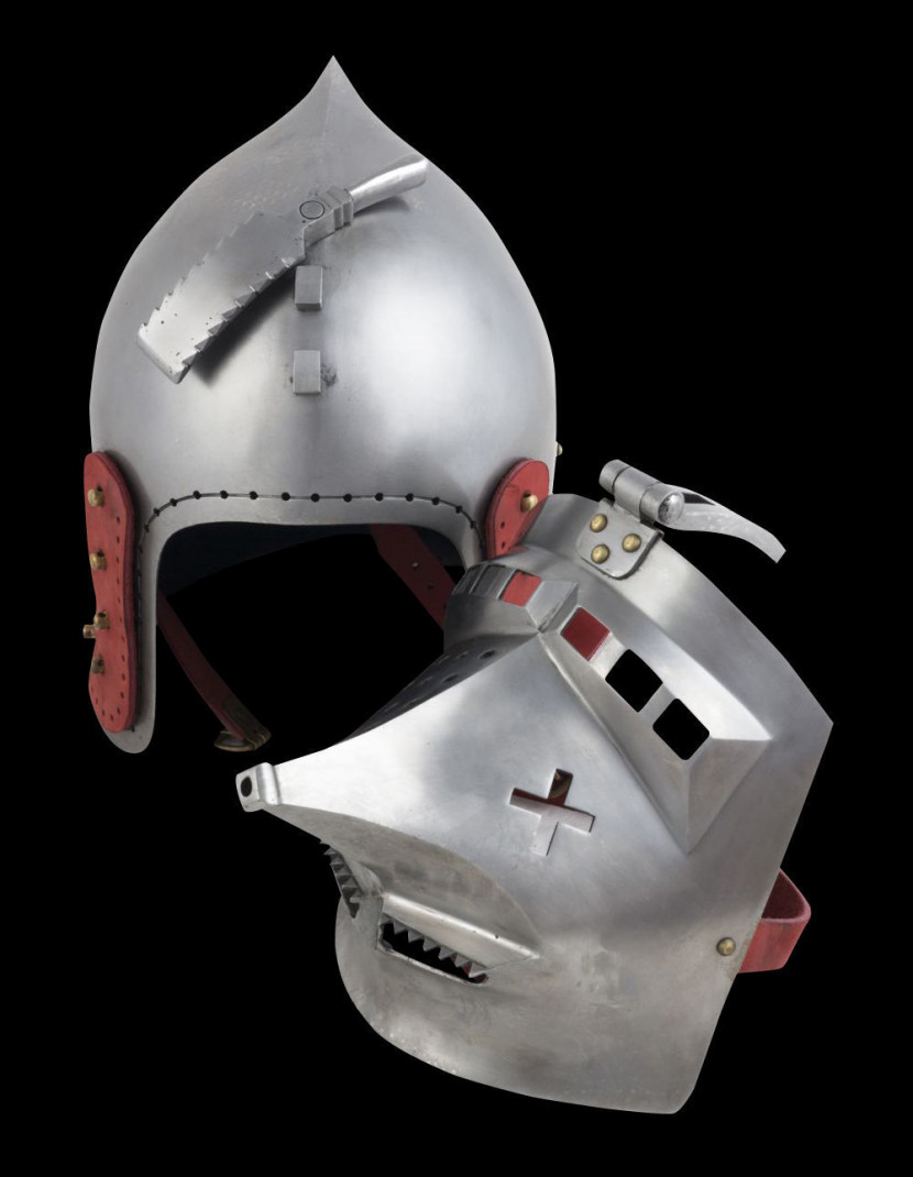 Bascinet hounskull, early XV century photo made by Steel-mastery.com