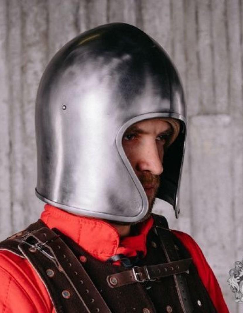 Italian barbute of the XV century photo made by Steel-mastery.com