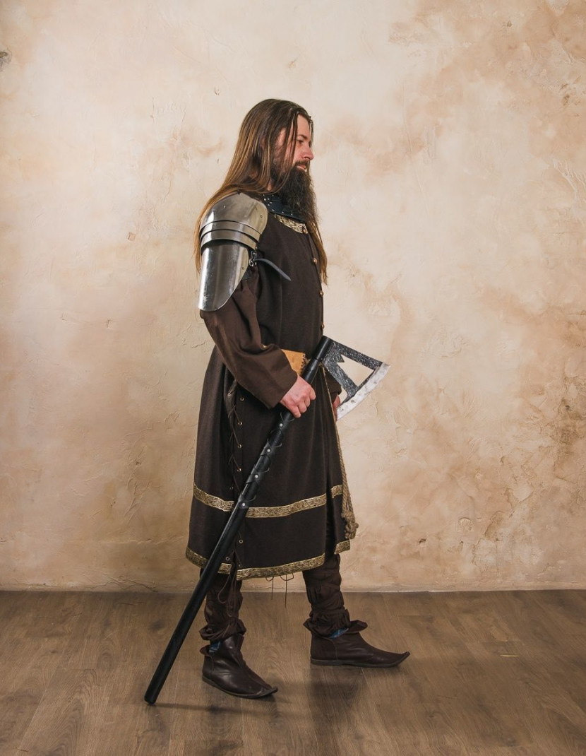 Spaulders, a part of fantasy-style costume  photo made by Steel-mastery.com