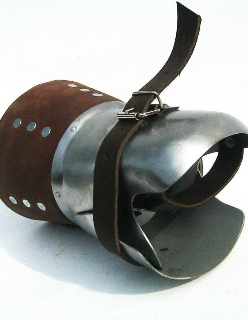 Brigandine mitten (for buckler) photo made by Steel-mastery.com