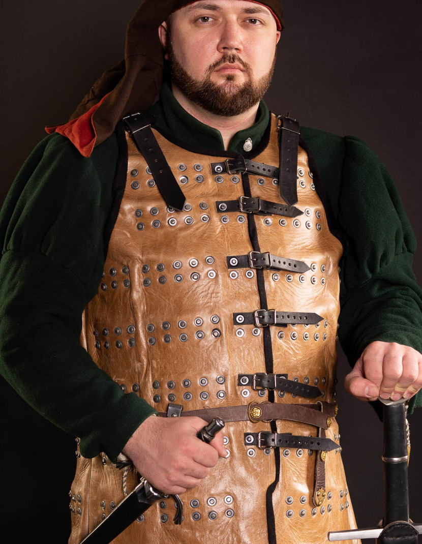 Brigandine of Spanish knight - 14th century photo made by Steel-mastery.com