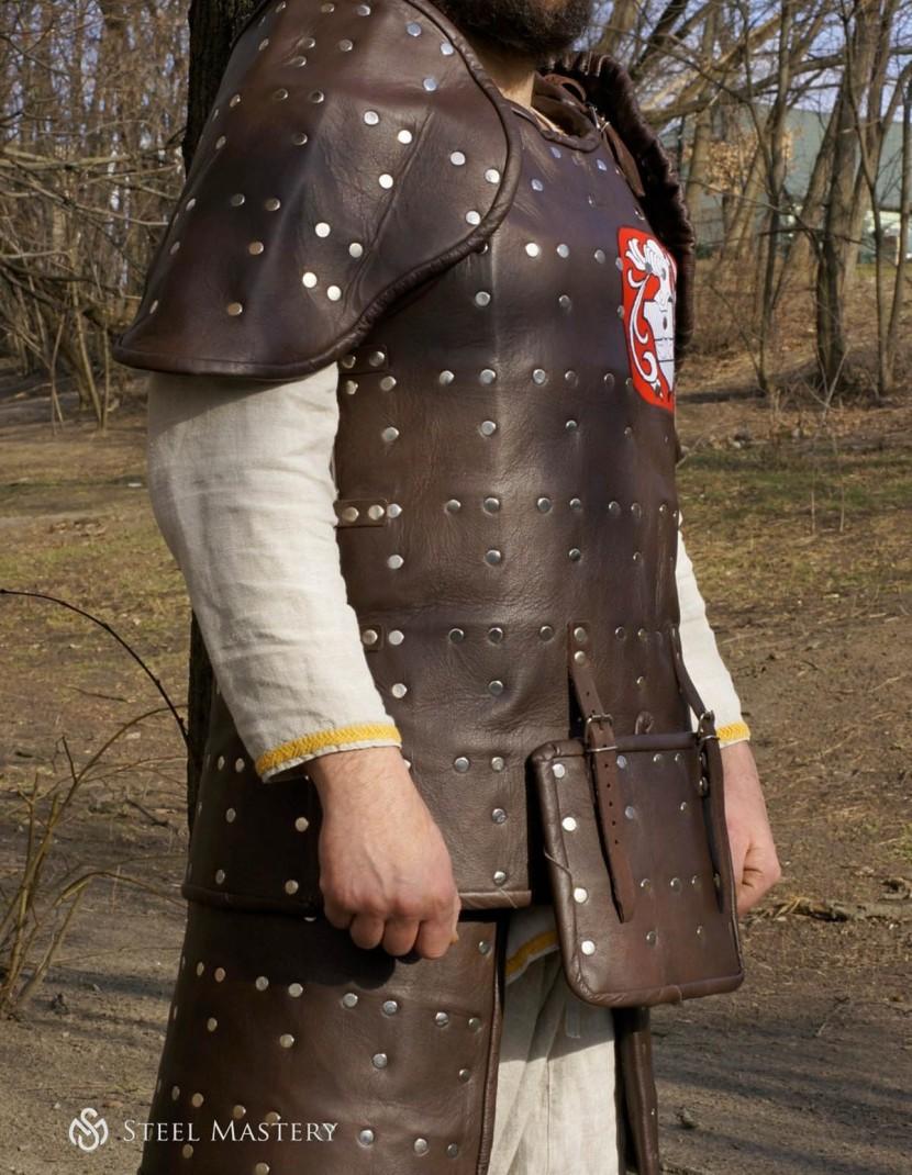 Khatangu degel of the Golden Horde warrior, XIV-XV century photo made by Steel-mastery.com