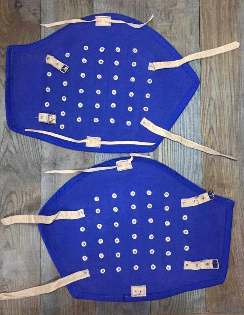 Thigh protection photo made by Steel-mastery.com