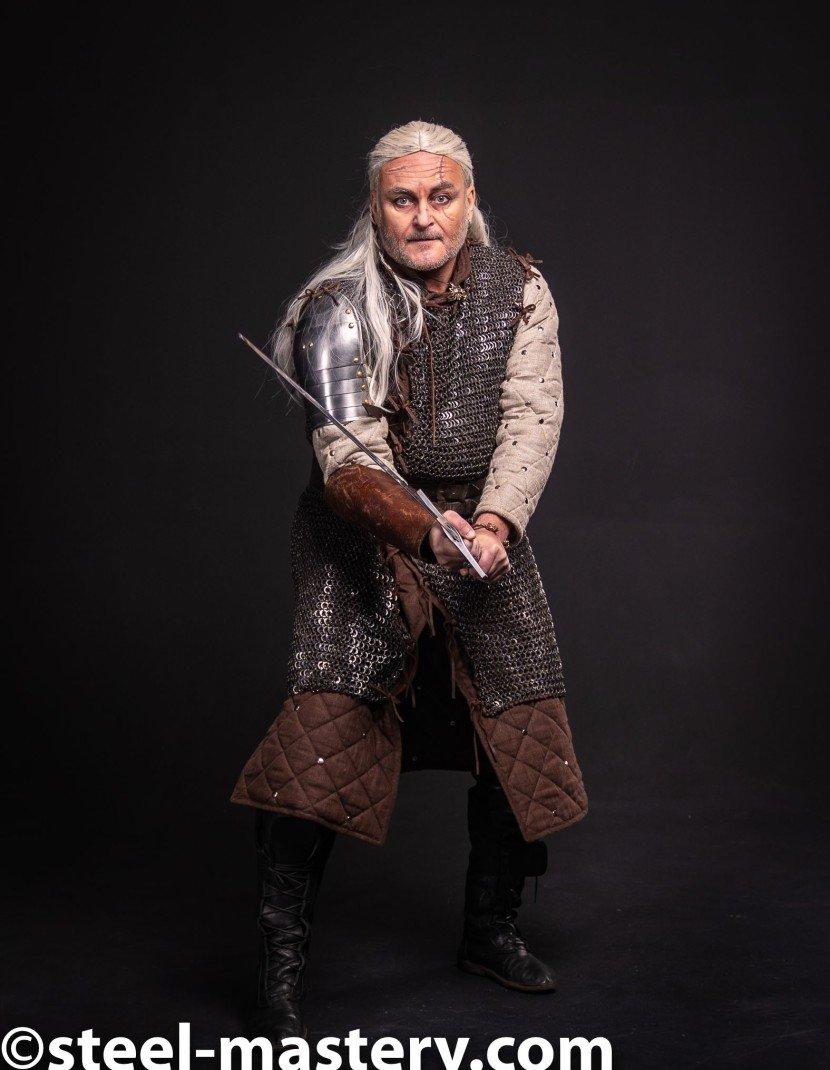 Witcher grandmaster ursine armor set photo made by Steel-mastery.com