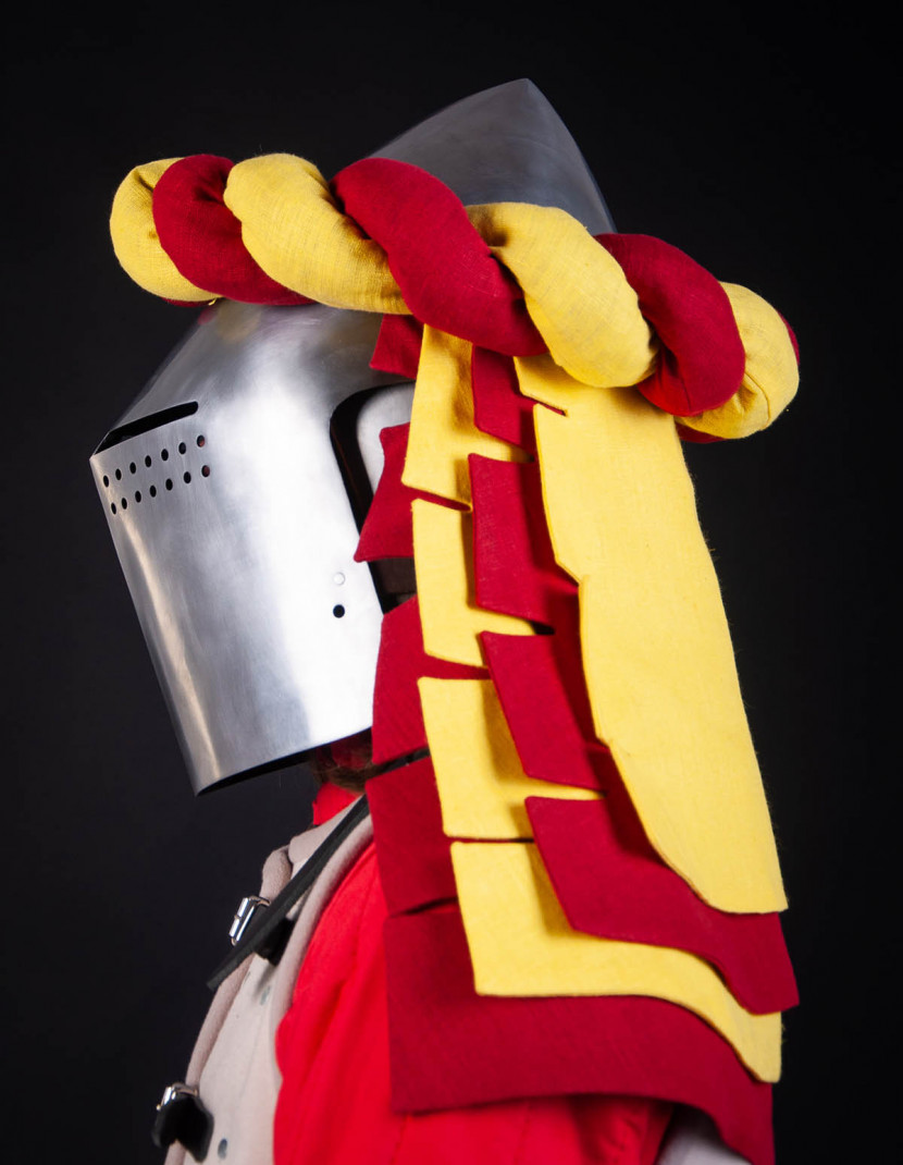 Torse - medieval heraldy headband photo made by Steel-mastery.com